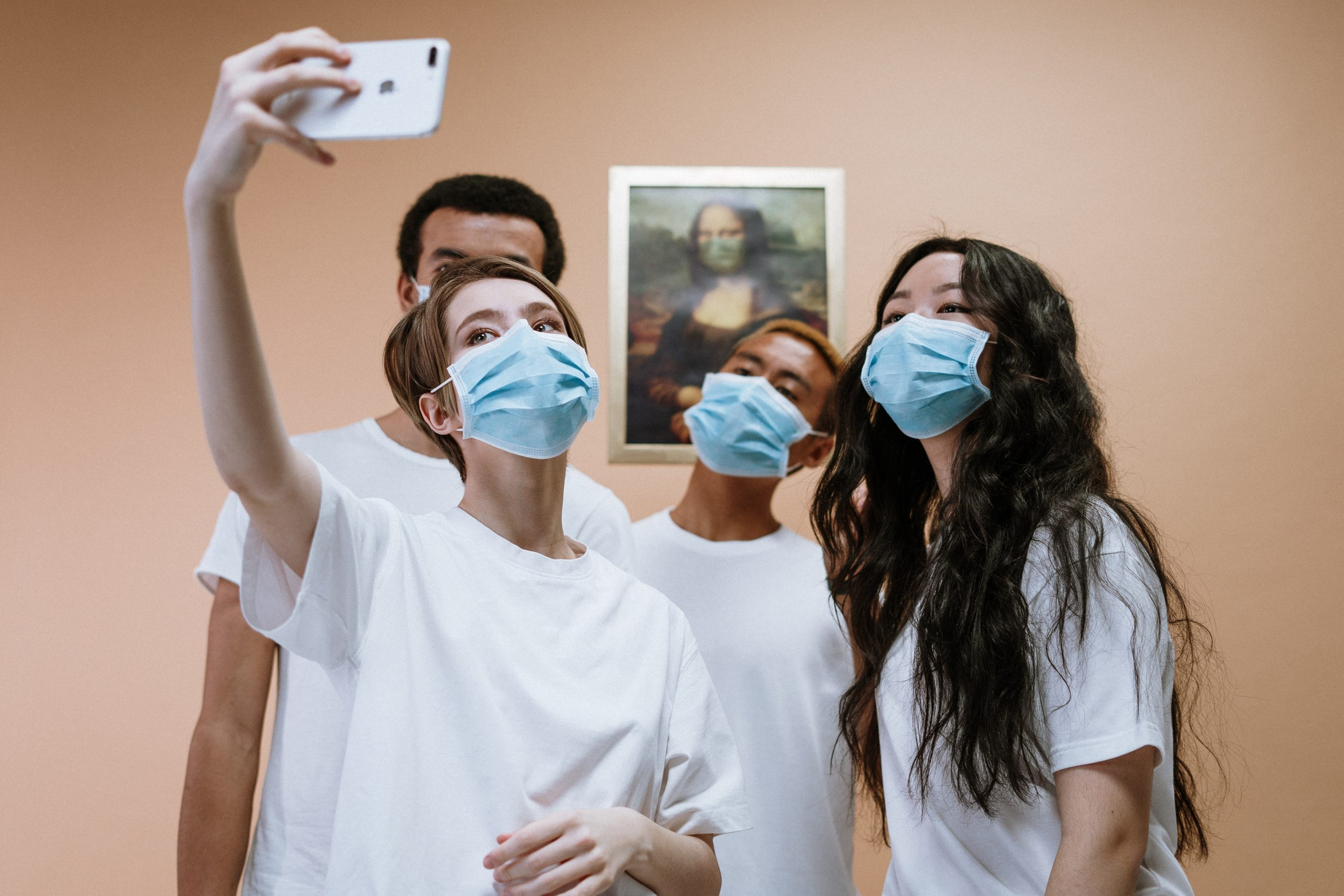 young-health-workers-taking-a-group-selfie-3957993